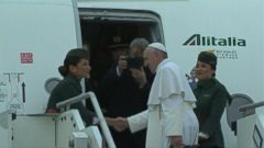 VIDEO: Pope Francis travels to Egypt amid heightened security