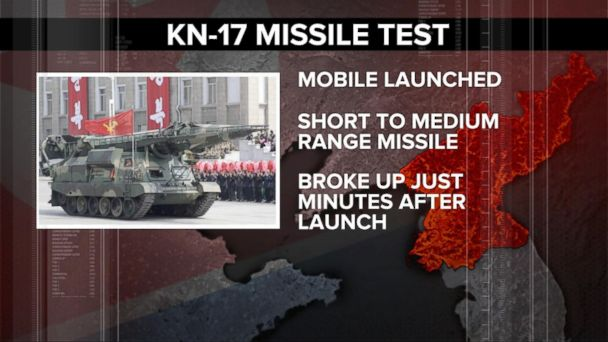 VIDEO: North Korea attempts another missile launch
