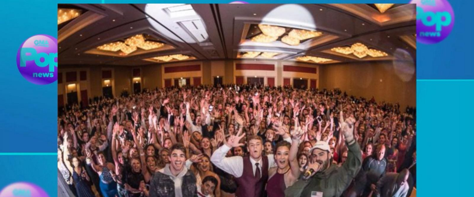 VIDEO: The Chainsmokers surprise students at Chicago prom