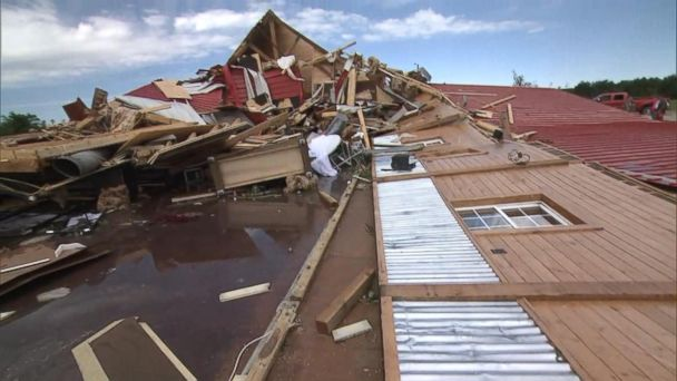 VIDEO: Tornadoes, floods slam the South and Midwest