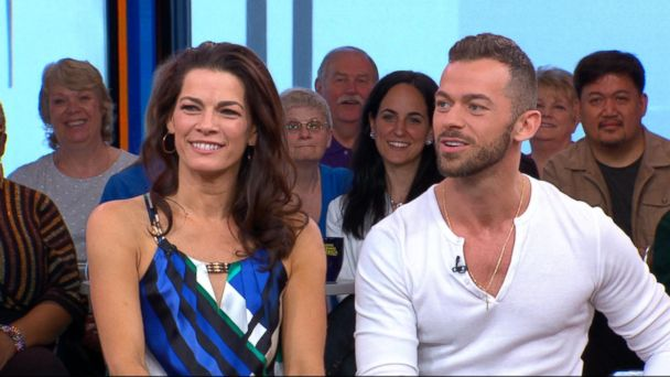 VIDEO: Nick Viall and Nancy Kerrigan discuss being booted from 'Dancing With the Stars'
