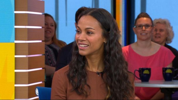 VIDEO: Zoe Saldana opens up about 'Guardians of the Galaxy Vol. 2'
