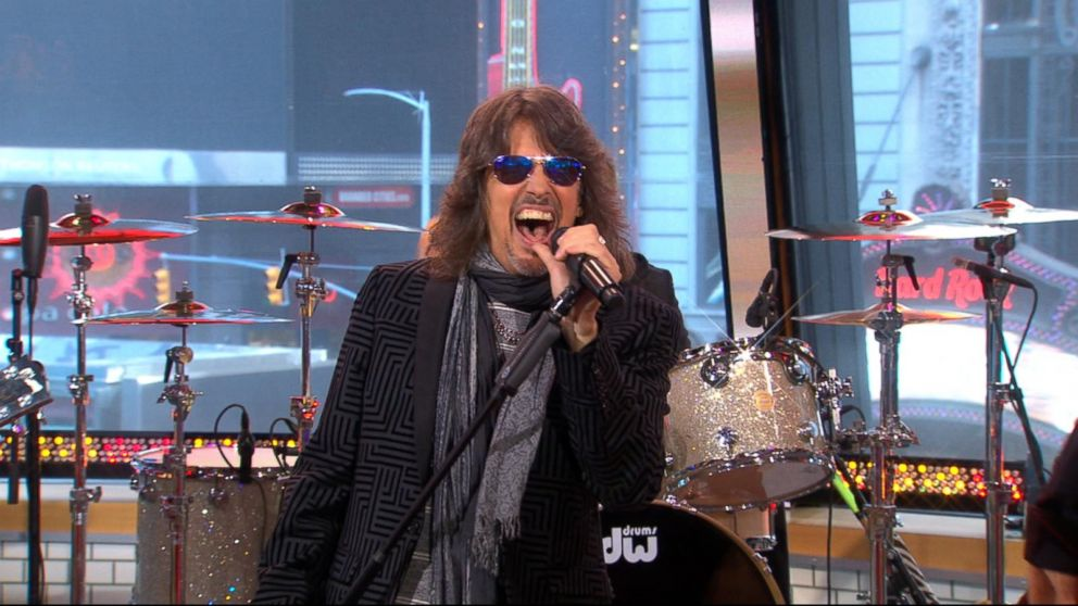 Foreigner performs 'Feels Like the First Time' live on 'GMA'
