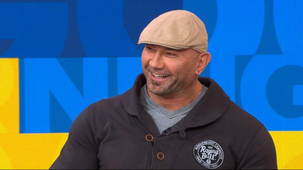VIDEO: Dave Bautista opens up about 'Guardians of the Galaxy Vol. 2'