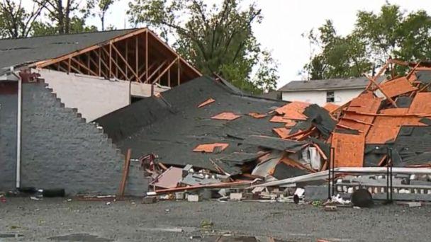VIDEO: Violent storm slams Savannah