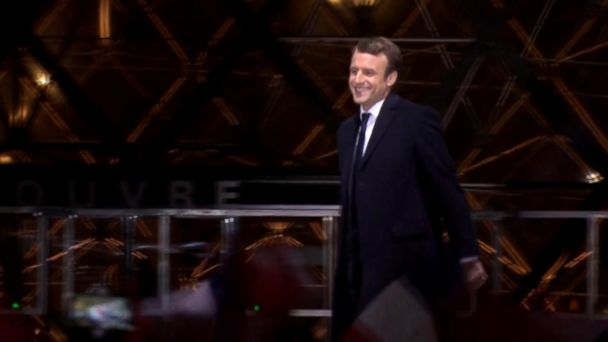 VIDEO: Emmanuel Macron wins French election