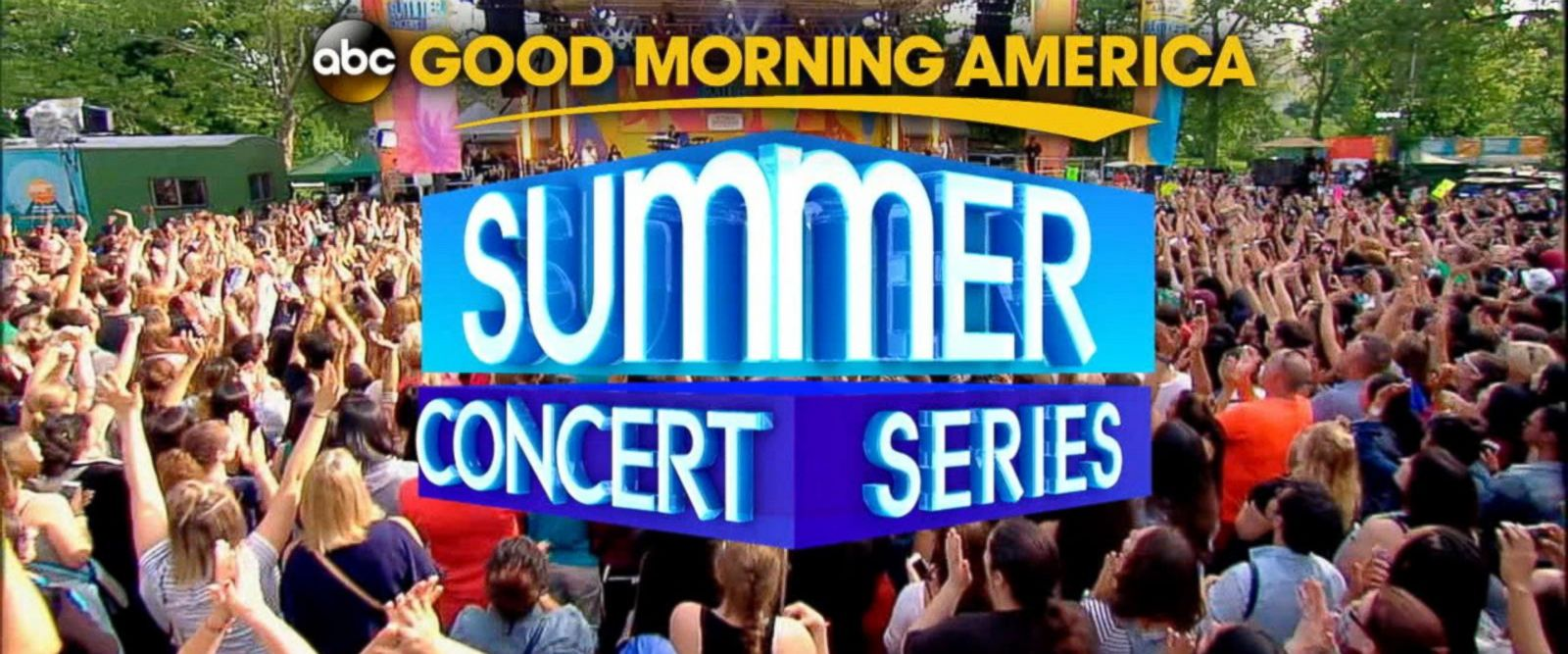 VIDEO: GMA 2017 Summer Concert Series lineup announced