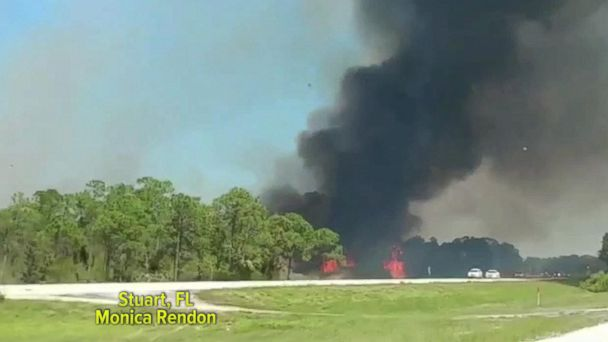 VIDEO: Wildfires sweep across the Southeast