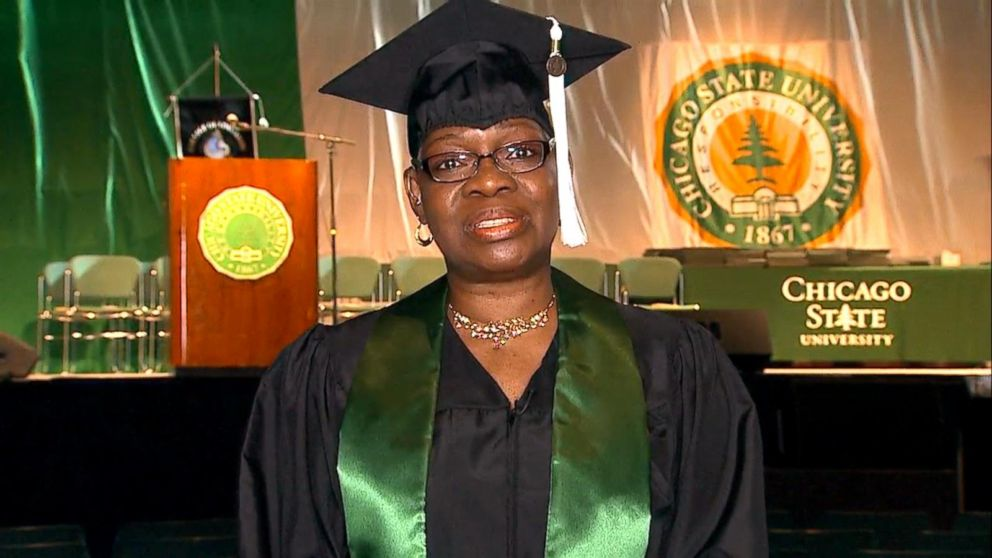 VIDEO: Grandmother hopes to inspire others with her graduation success story