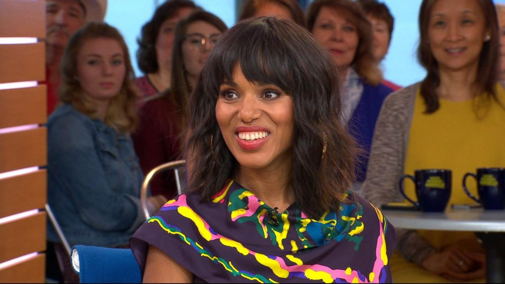 Good Morning America Scandal : Kerry washington on the end of scandal and surprising