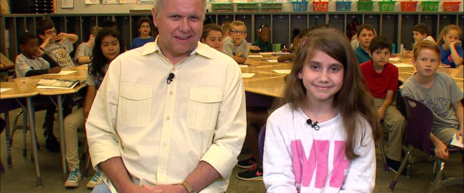 VIDEO: 3rd grader whose talent show performance went viral appears on GMA