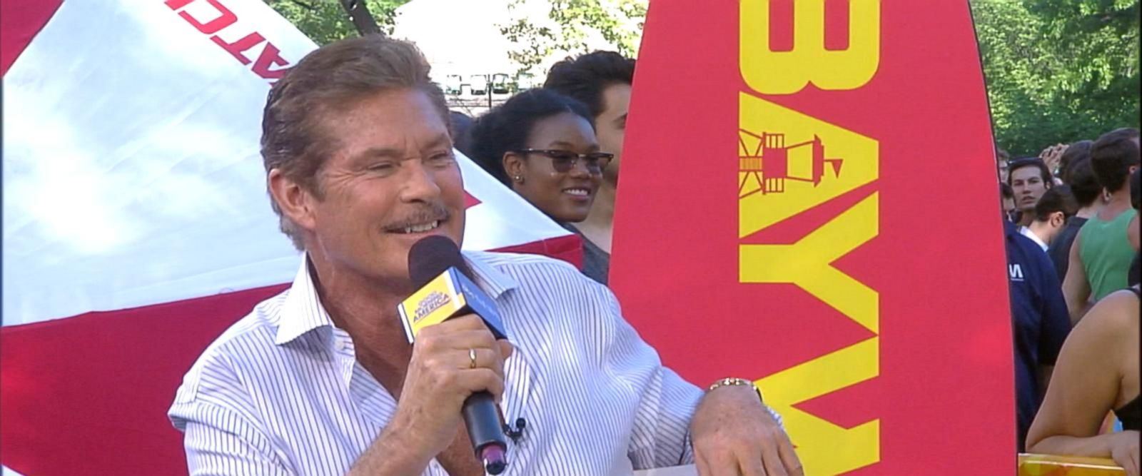 'Baywatch' star David Hasselhoff hit the gym for 6 weeks ...