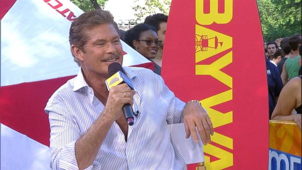VIDEO: David Hasselhoff opens up about 'Baywatch'