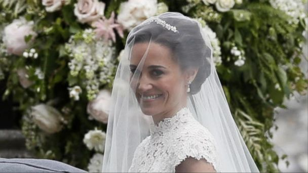 VIDEO: Pippa Middleton weds James Matthews