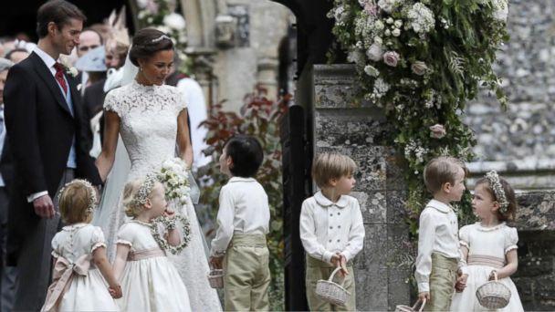 VIDEO: Inside Pippa Middleton's wedding to James Matthews
