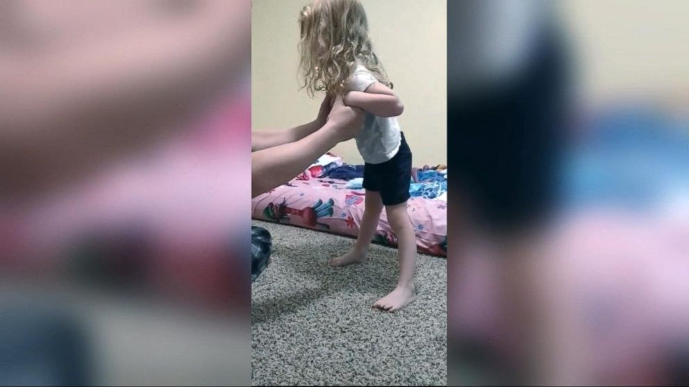WATCH:  Viral Facebook video captures a 4-year-old suffering paralysis from a tick bite