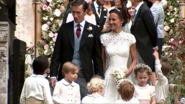 VIDEO: Royal family comes out for Pippa Middleton's wedding