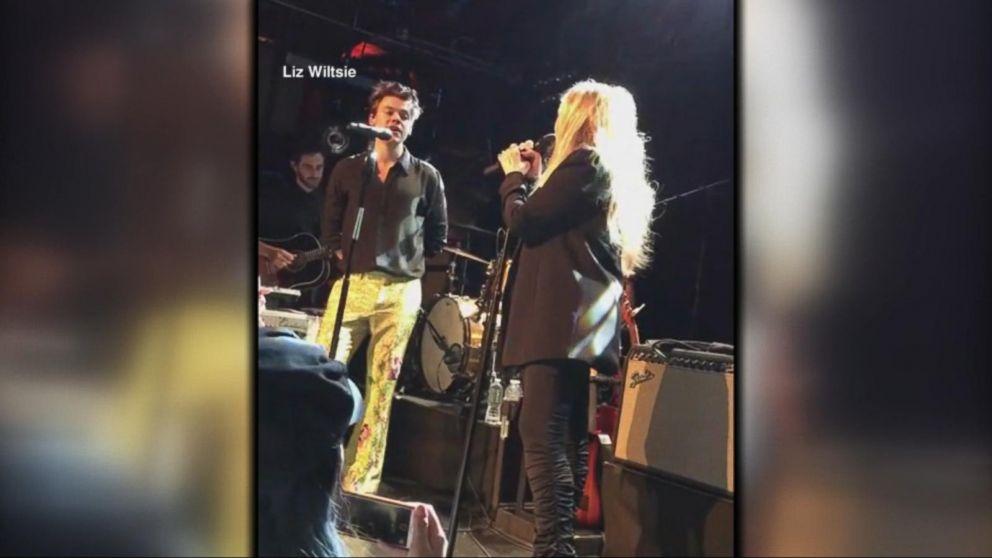 VIDEO: Harry Styles and Stevie Nicks duet on 'Landslide'