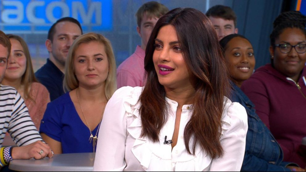 What was Priyanka Chopra doing at a NY radio station!