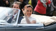 VIDEO: A closer look at Pippa Middletons wedding