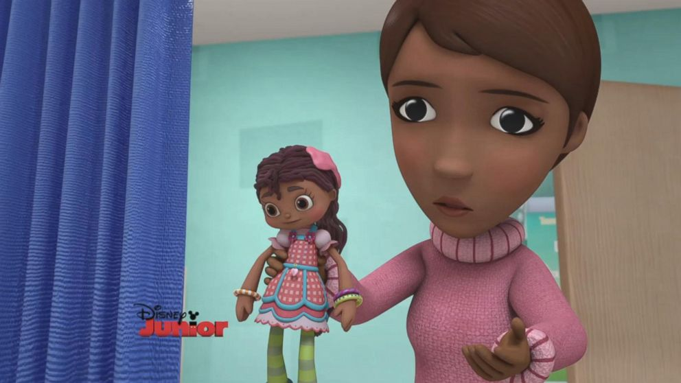 VIDEO: Robin Roberts voices character on 'Doc McStuffins'