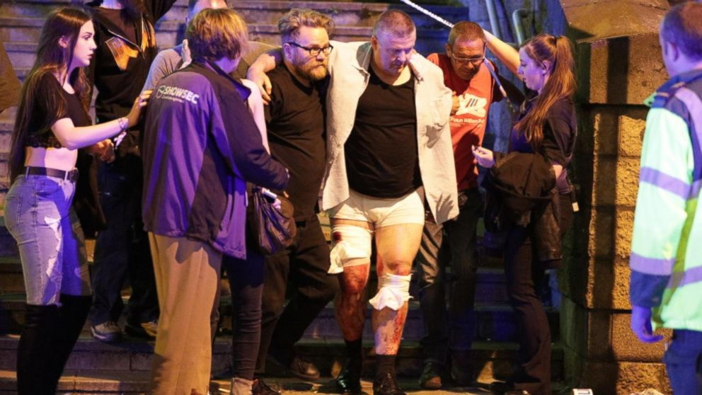 VIDEO: Deadly explosion sparks fear at Ariana Grande concert