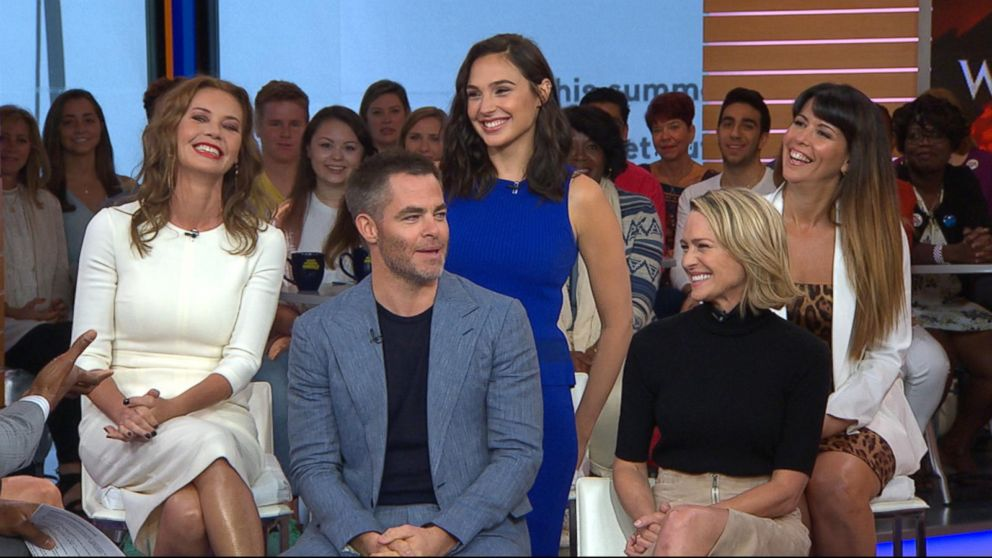VIDEO: The cast of 'Wonder Woman' takes over 'GMA'