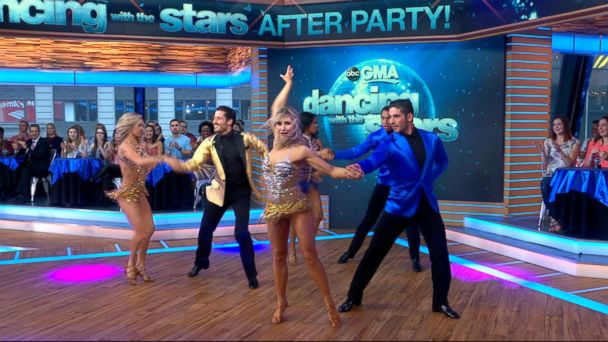 VIDEO: The 'Dancing With the Stars' finalists perform live on 'GMA'
