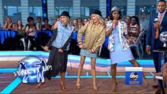 VIDEO: The DWTS finalists compete in a dancing showdown live on GMA