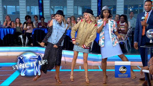 VIDEO: The 'DWTS' finalists compete in a dancing showdown live on 'GMA'