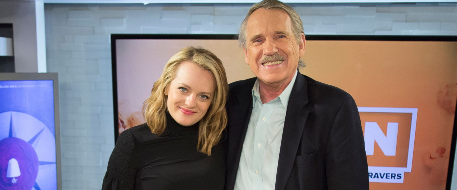 VIDEO: Elisabeth Moss on the making of 'The Handmaid's Tale'