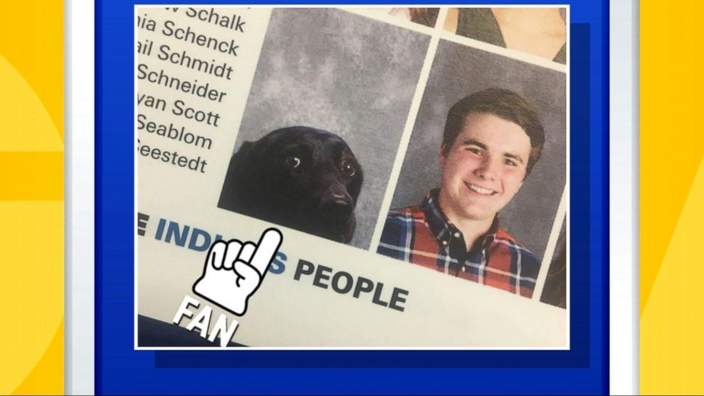 One school made sure that a student's furry friend was remembered in the yearbook.
