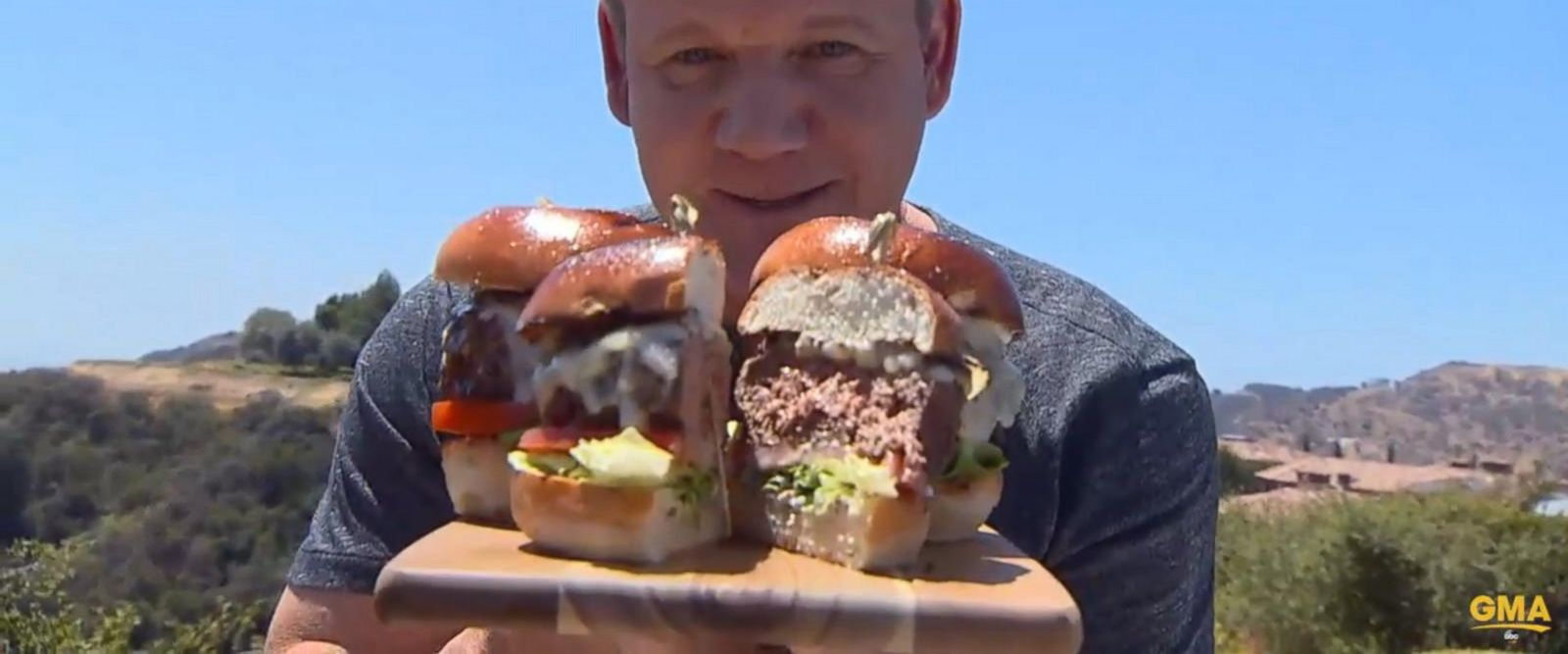 VIDEO: Gordon Ramsay's tutorial on how to make the perfect burger
