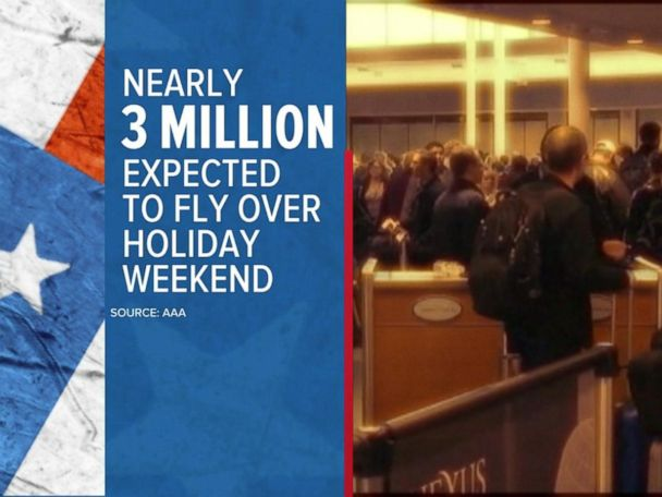 WATCH:  Air travel expectations for Memorial Day weekend