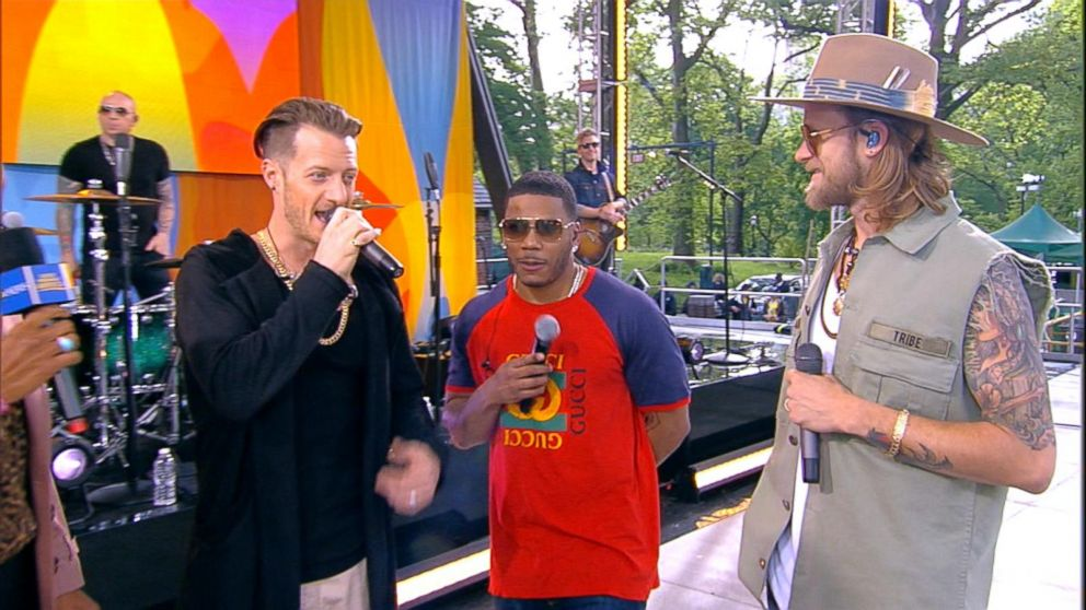 VIDEO: Catching up with Florida Georgia Line and Nelly live on 'GMA'