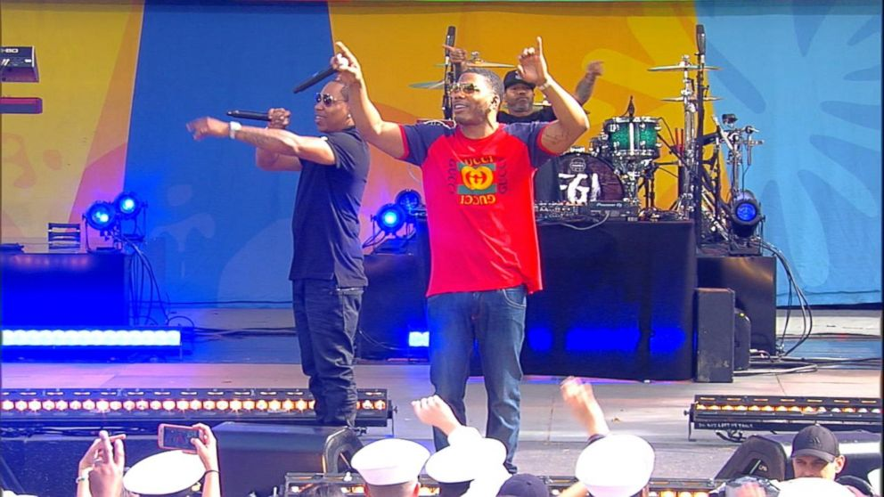 VIDEO: Nelly rocks out Central Park with his hit 'Hot in Herre'