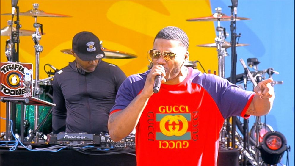VIDEO: Nelly debuts his new song 'Sounds Good to Me' live on 'GMA'