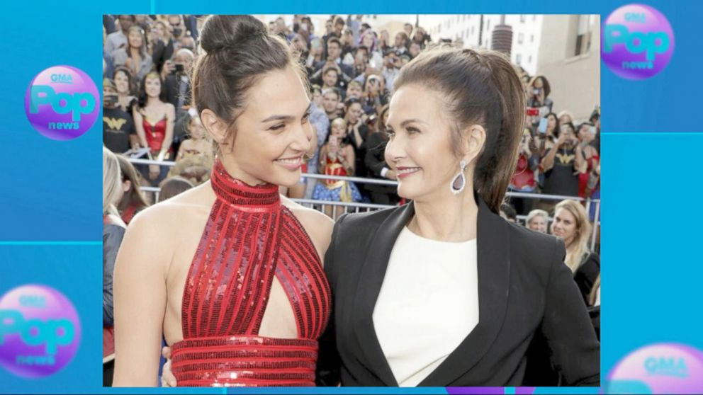 VIDEO: Original 'Wonder Woman' Lynda Carter joins Gal Gadot at movie premiere