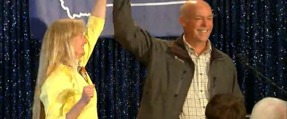 VIDEO: Greg Gianforte wins Montana special election day after assault charge