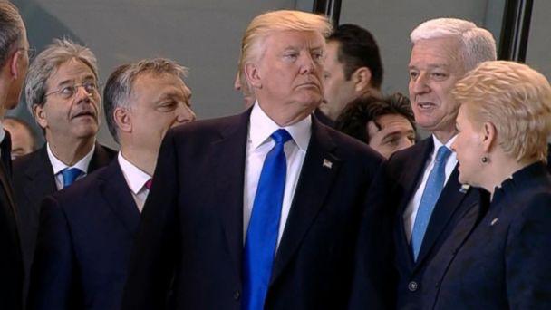 VIDEO: Trump's tough talks with NATO
