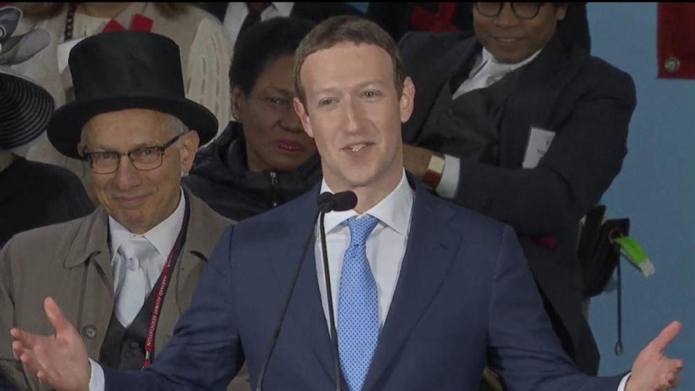 VIDEO: Mark Zuckerberg gives Harvard commencement address