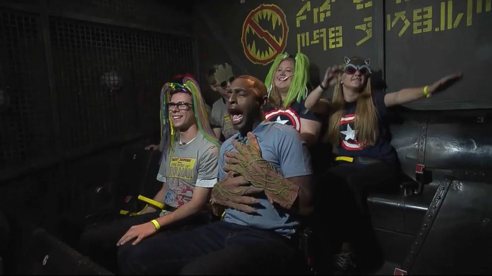 VIDEO: Local ABC reporter gets the ride of his life on new 'Guardians of the Galaxy'