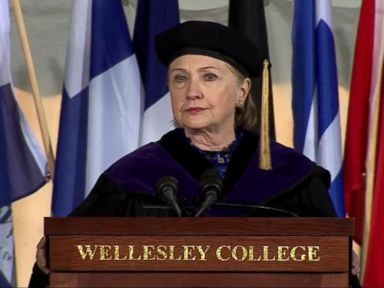 WATCH:  Hillary Clinton delivers the commencement speech at her alma mater Wellesley College