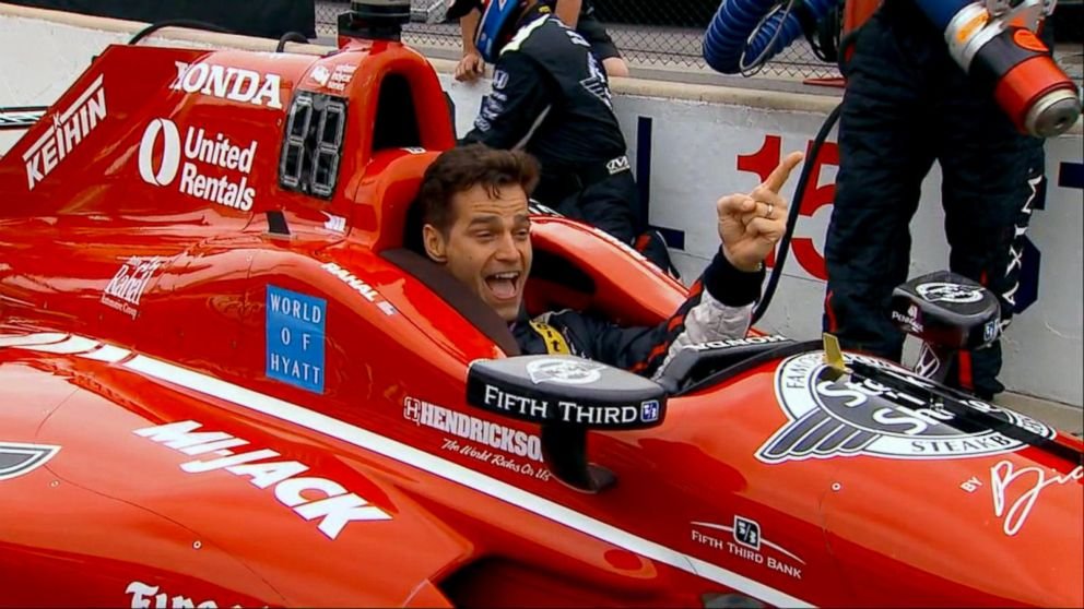 VIDEO: Behind the scenes at the Indy 500