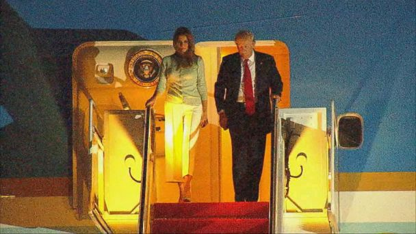 VIDEO: Trump back from foreign trip faces political storms over Russian investigation