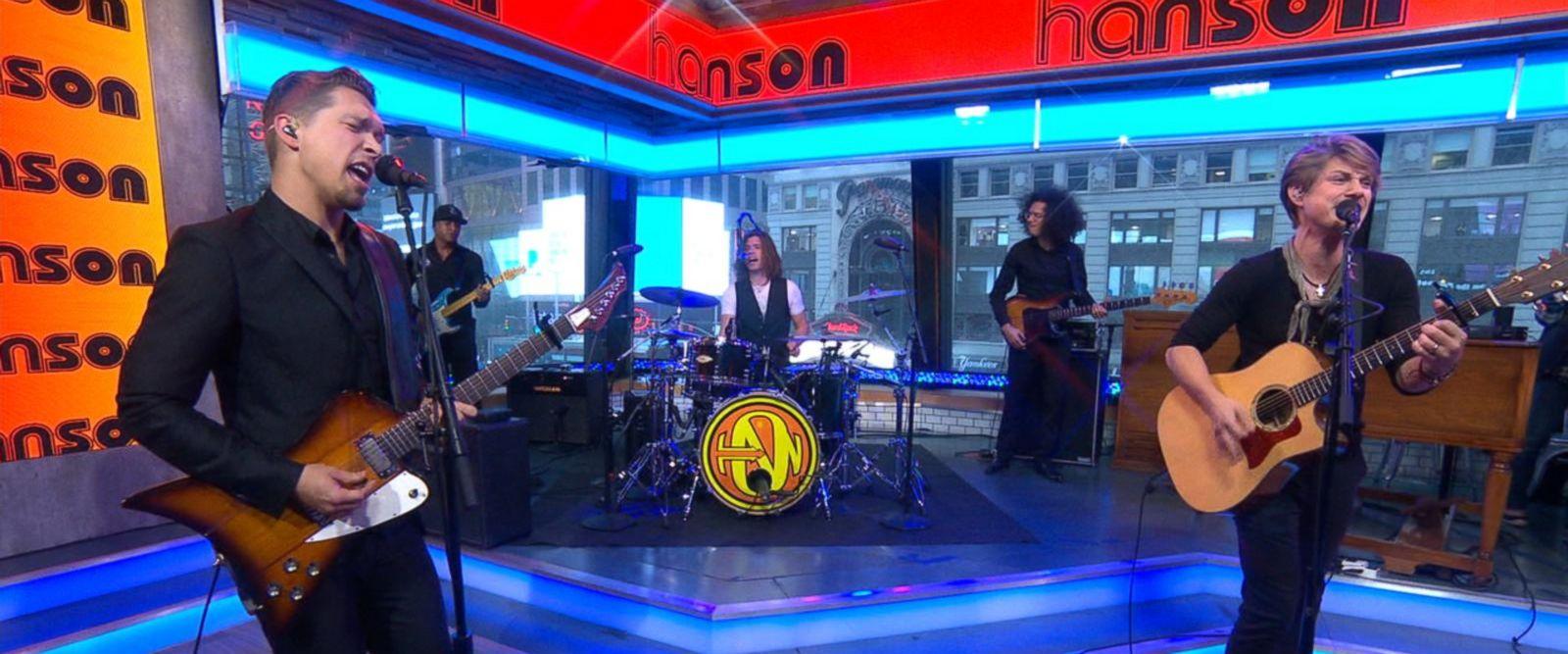VIDEO: Hanson performs 'I Was Born' on 'GMA'