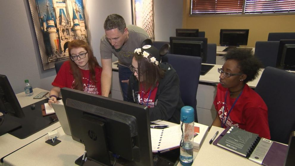 VIDEO: Inside the Disney Dreamers Academy