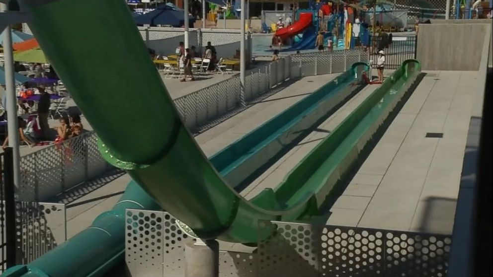 VIDEO: New waterslide remains closed after 10-year-old flies off it