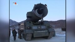 VIDEO: North Korea launches another missile test