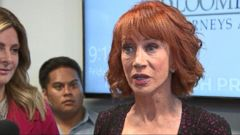 VIDEO: Tearful Kathy Griffin admits mistake but remains defiant against Trump